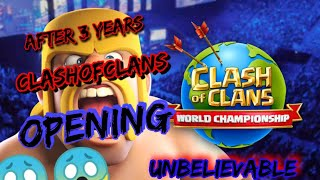 Clash of clans after 3 years reopening clash of clans | Uzair Gaming