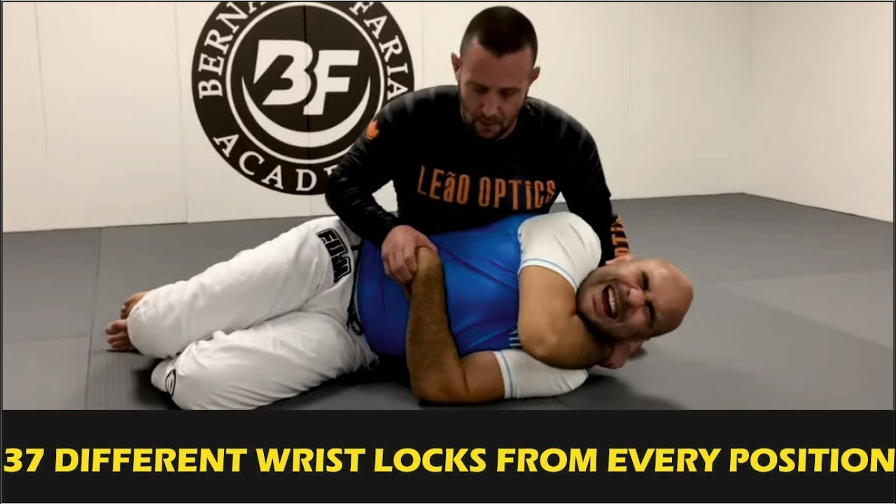 37 Different Wrist Locks From Every Position by Pete The