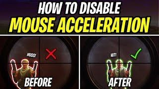 How to Disable Mouse Acceleration on Fortnite (Improves Aim)