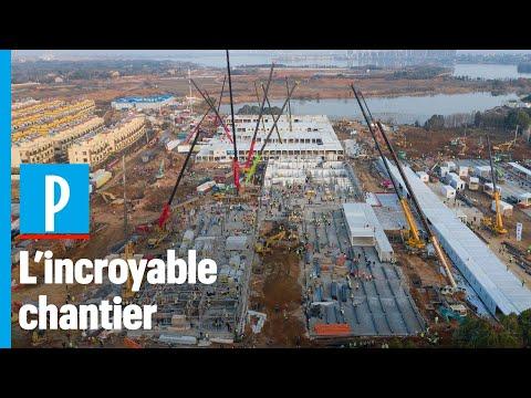 Coronavirus: 2 hôpitaux en 10 jours, le colossal chantier réalisé par la Chine