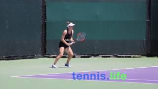 Simona Halep - Miami practice