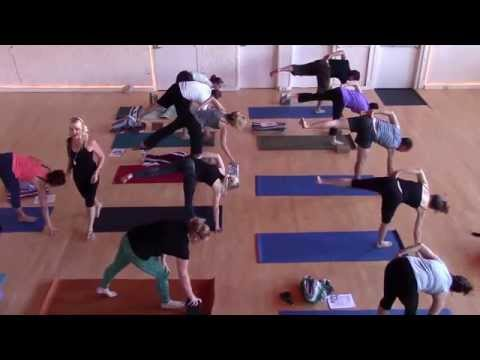 A Swan River Yoga Open Level Class: Balancing Poses (w/ founder Michelle Baker) (SRYBC)