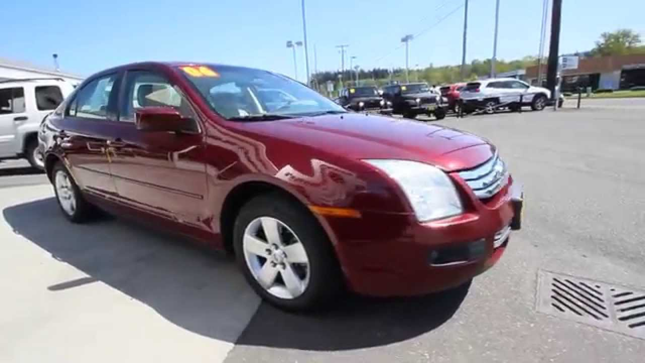 2006 Ford Fusion Se Merlot Clearcoat Metallic 6r181450