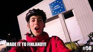 Made it to SUOMI FINLAND!! | European Bike Tour #56