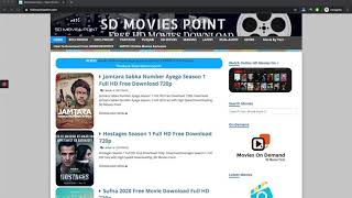 How to Download From SDMOVIESPOINT (New Method)