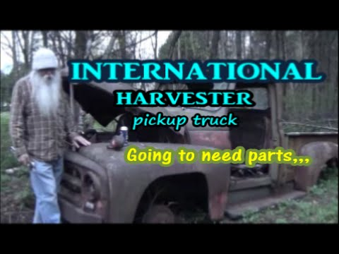 International Harvester / pickup truck parts list