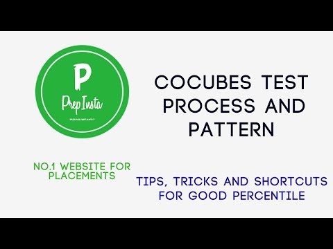 How to Prepare for CoCubes Written Test » PREP INSTA