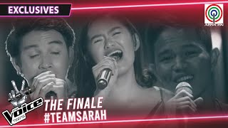 Team Sarah Top 3 Teen Artists' Journey to Finale | The Voice Teens Philippines 2020
