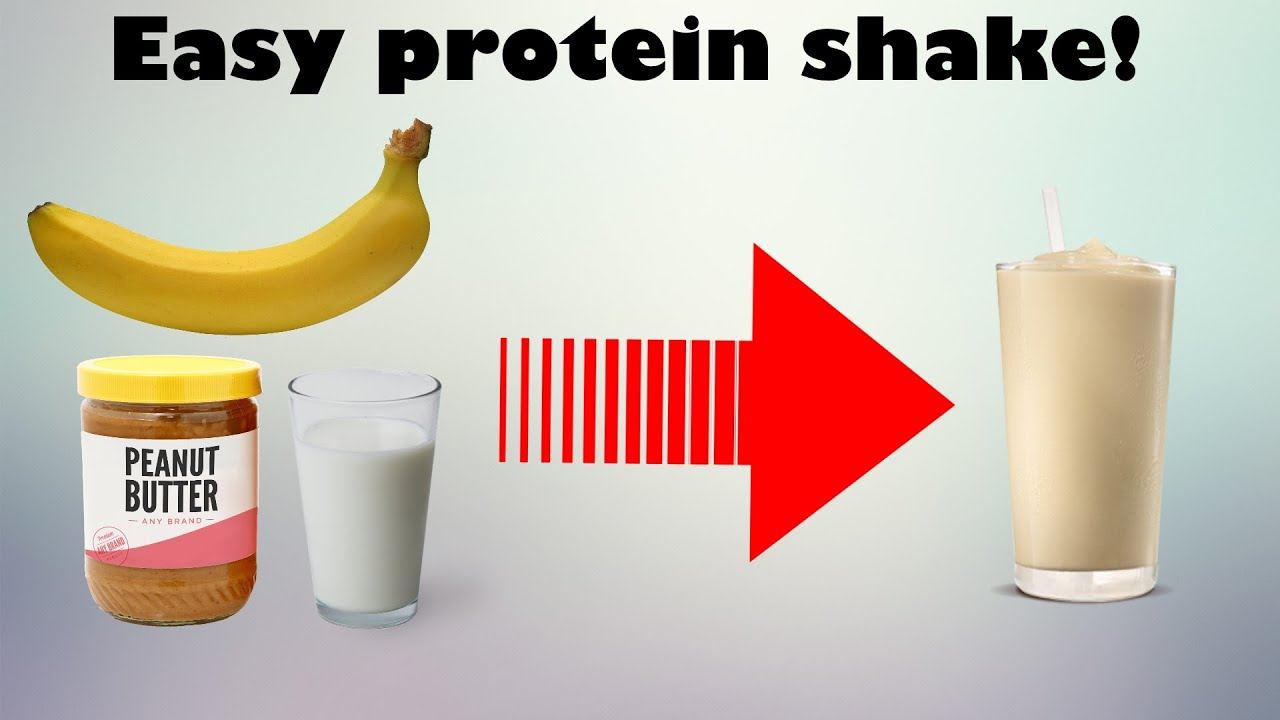 Make A Protein Shake Without Protein Powder Simple