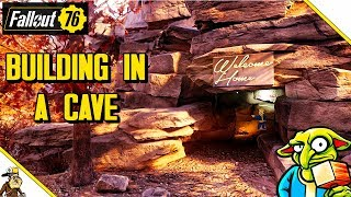 Fallout 76 Building - Overpowered Cave Base (Fallout 76 Base Building Guide)