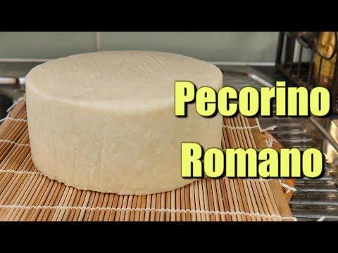 How to make Pecorino Romano at home using Raw Milk