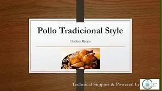 Pollo Tradicional Style Chicken Recipe | Special Chicken Dish for Dinner & Lunch | Delicious Chicken