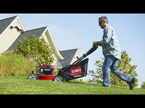 All-Wheel Drive Toro Lawn Mower
