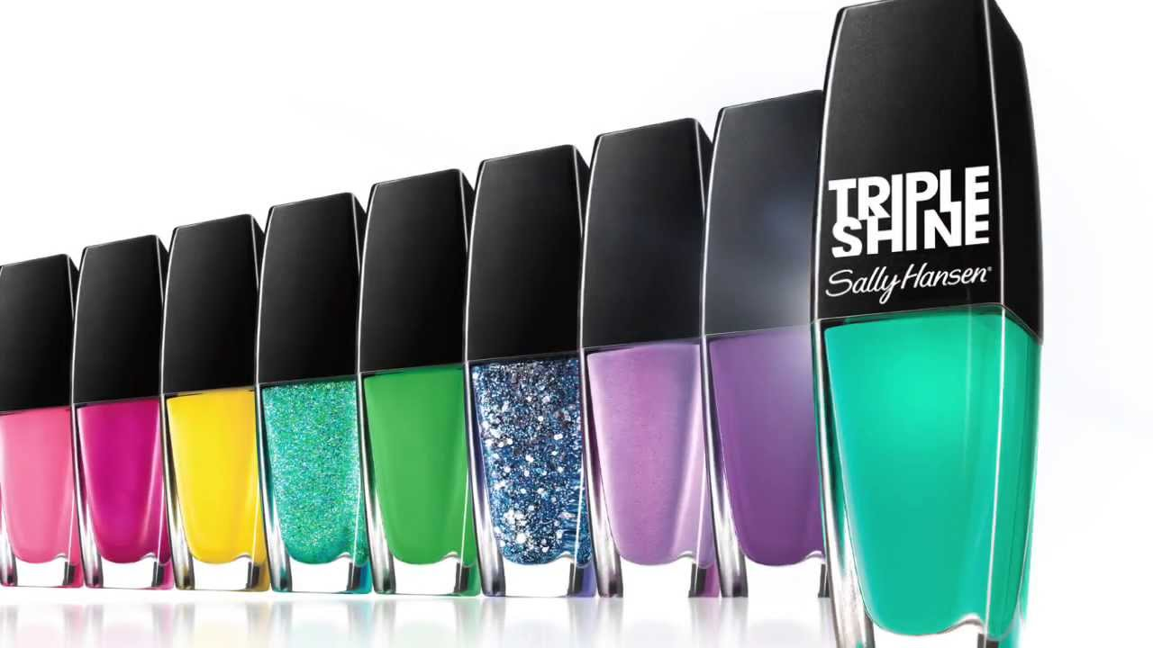 new triple shine from sally hansen  get ready for the