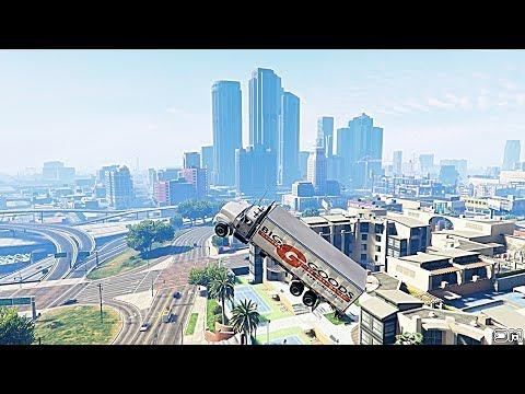 GTA V Unbelievable CrashesFalls - Episode 109
