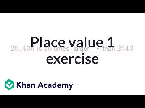 Understanding place value 1 exercise | Arithmetic properties | Pre-Algebra | Khan Academy