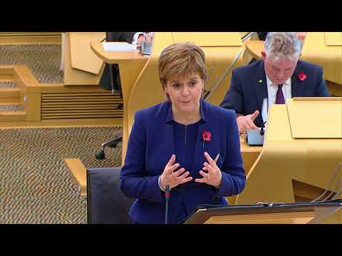 First Minister's Questions - 2 November 2017