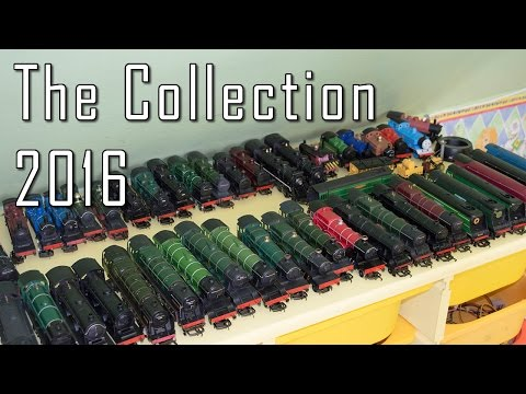 My 00 Gauge Model Railway Collection 2016