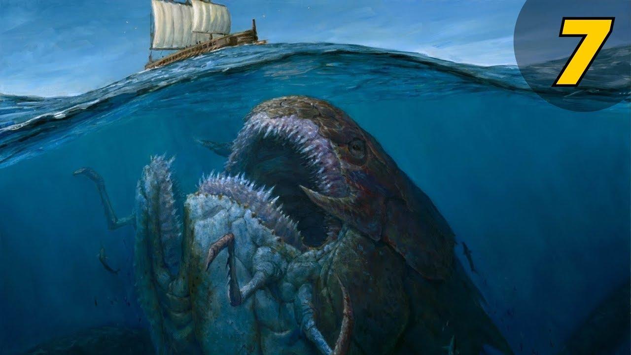 7 สัตว์ประหลาด ใต้ท้องทะเลที่ใหญ่ที่สุดเท่าที่โลกเคยมีมา