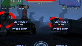 Lets Play Aliens: Extermination arcade game