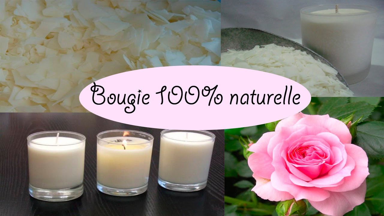 diy bougie naturelle parfum e la rose doovi. Black Bedroom Furniture Sets. Home Design Ideas