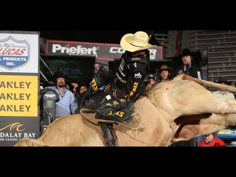 Douglas Duncan puts up 87.00 points on Blonde Bomber (PBR)