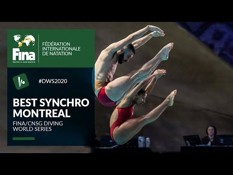 The best Synchro-Dives from Montreal   FINA/CNSG Diving World Series 2020