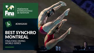 The best Synchro-Dives from Montreal | FINA/CNSG Diving World Series 2020
