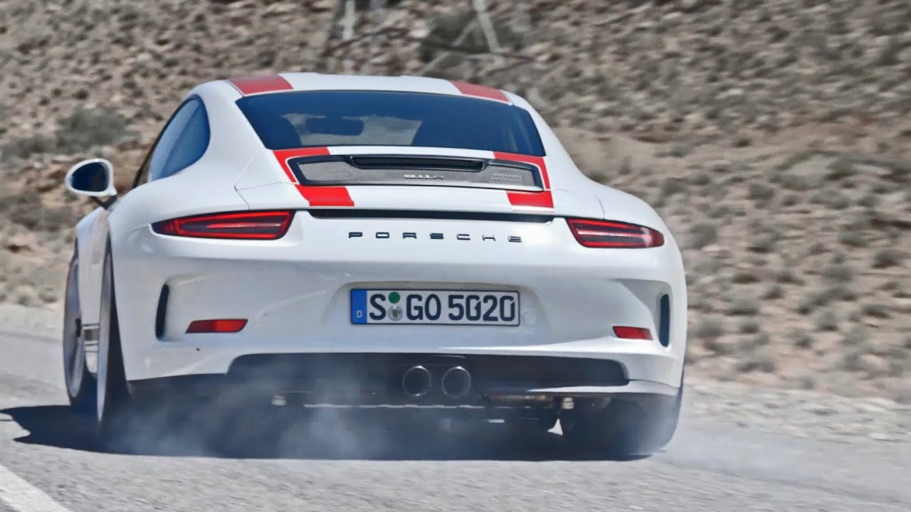 Porsche 911 R 2017 Official Test Drive