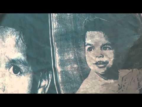 Latina artist creates work on unique canvas