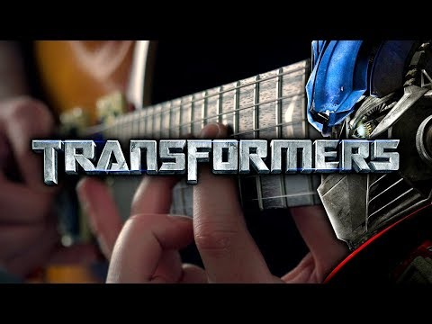 Transformers Theme (Arrival To Earth) On Guitar