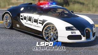 LSPDFR - Day 317 - Police Bugatti Veyron