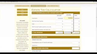 AXA Privilege : Estate Tax Calculator