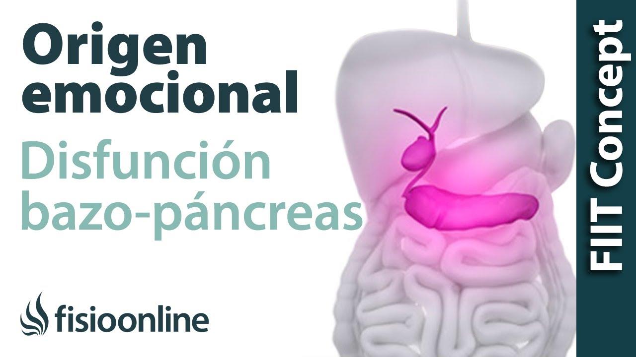 Origen emocional de la disfunción de bazo-páncreas. - YouTube