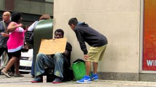 Helping the Homeless in NYC | Giving Hope