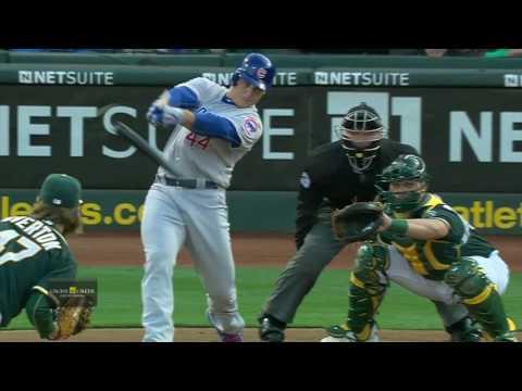 August 05, 2016-Chicago Cubs vs. Oakland Athletics
