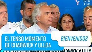 El tenso momento entre Andrés Chadwick y Jorge Ulloa   Bienvenidos