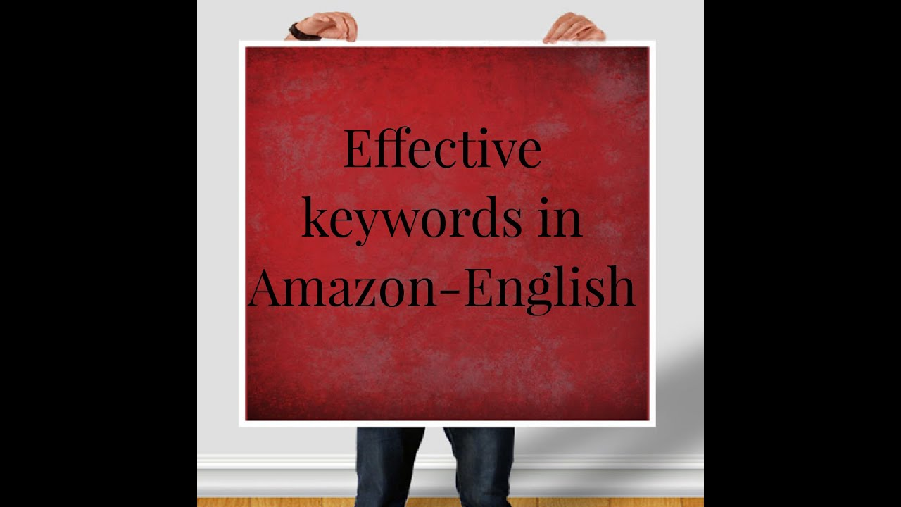 How to add Keywords to your Product In Amazon Seller Central-English