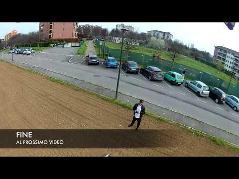 Mjx Bugs2 - EKEN H9R (Action camera on board ) - Long Distance 750m - Milano Rho