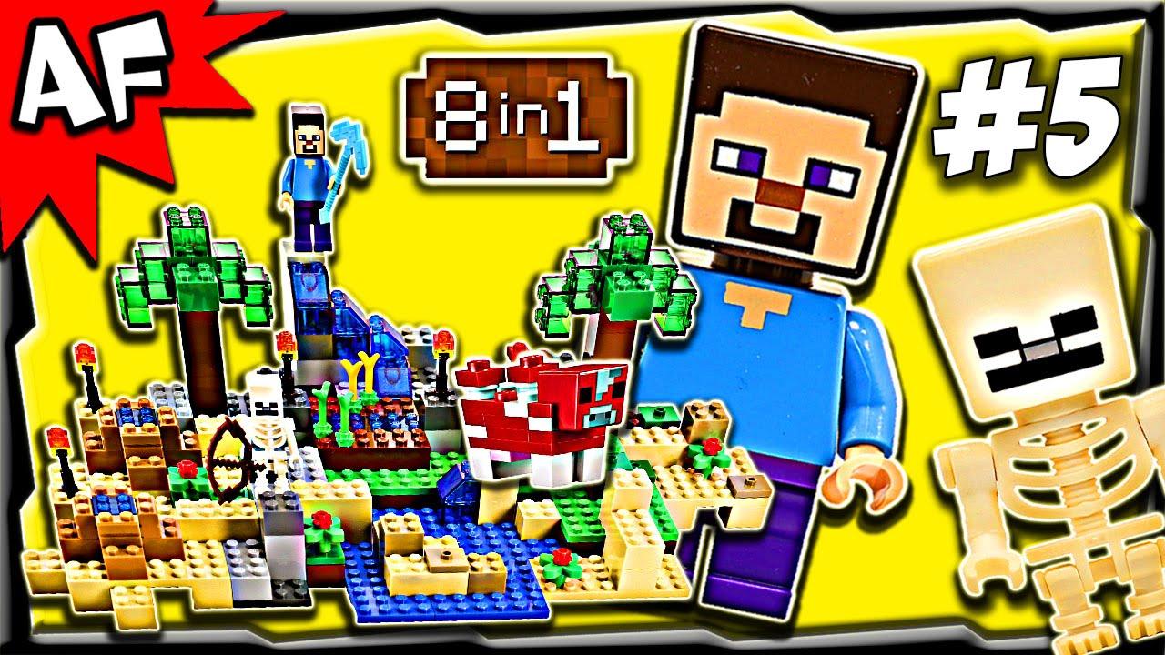 lego minecraft crafting box instructions