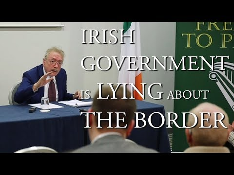 Dr. Ray Bassett speaks at Irexit Cork 16-02-2019