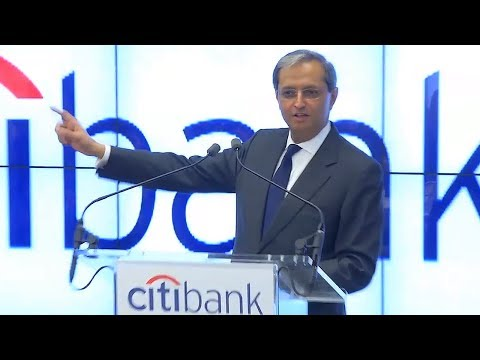 Citi: Vikram Pandit at the Union Square Flagship Branch