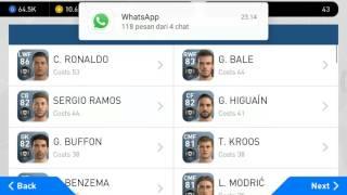 Trik & Tips Cara mendapatkan C.Ronaldo di Pes 2017 Mobile, 100% Berhasil