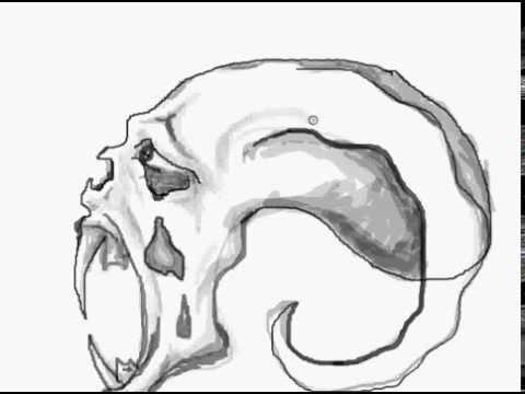 How to draw creepy skull youtube thecheapjerseys Choice Image