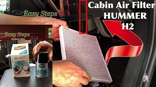 HUMMER H2 Cabin Air Filter | How To Eliminate Odor In Used Car