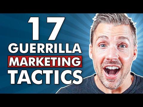 17 Guerrilla Marketing Tactics For Entrepreneurs (PROVEN & EFFECTIVE))