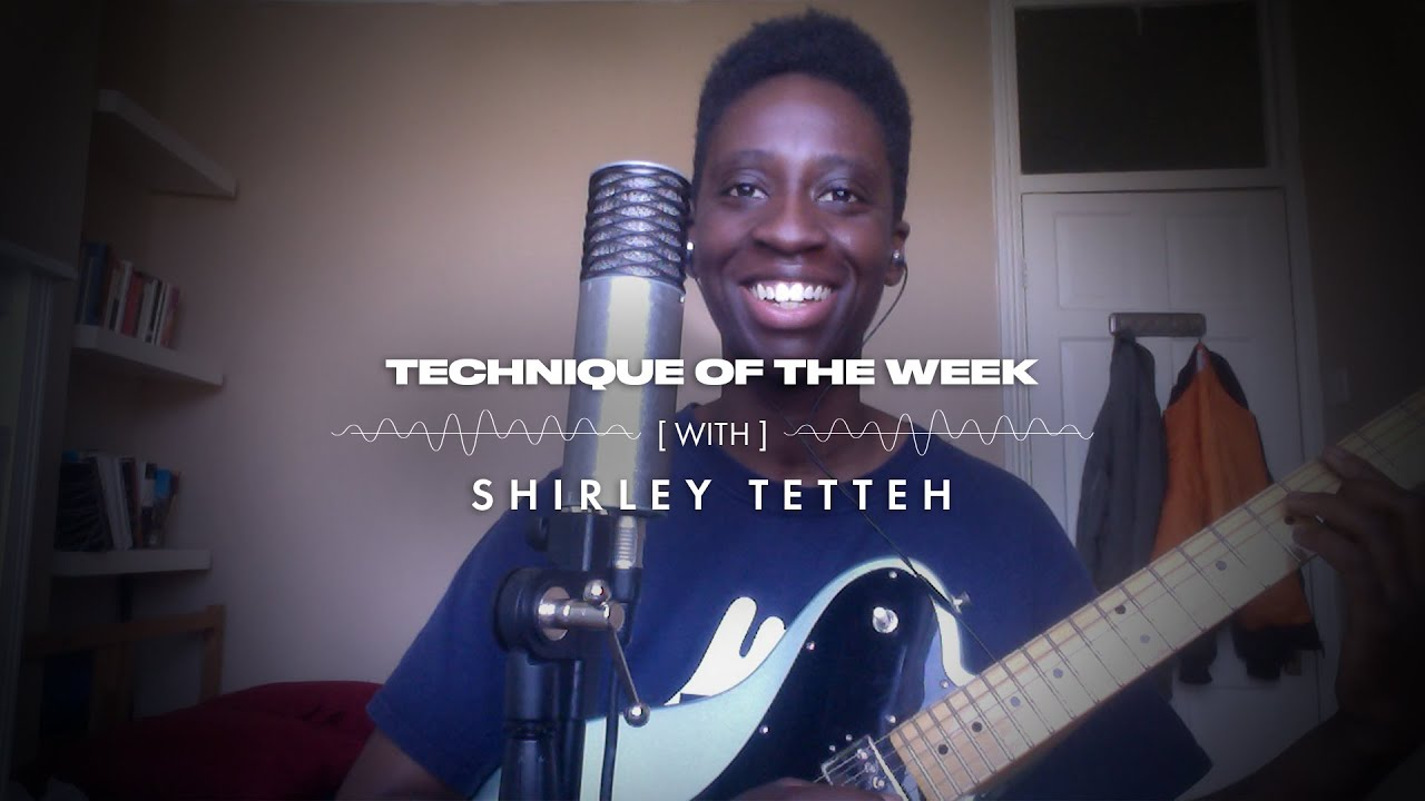 Shirley Tetteh & Single Note Lines | Technique of the Week | Fender