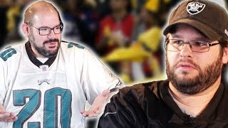 NFL Rival Fans Try Complimenting Each Other