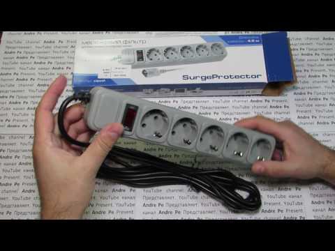 Сетевой фильтр Surge Protector для ИБП 5 розеток 4.5 м Серый (SPX-PC-15) из Rozetka.com.ua