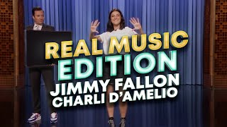 Charli D'Amelio Real Music Edition - Jimmy Fallon The Tonight Show